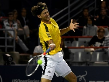Dominic Thiem was defeated by Diego Schwartzman in ATP Montreal Masters. Reuters