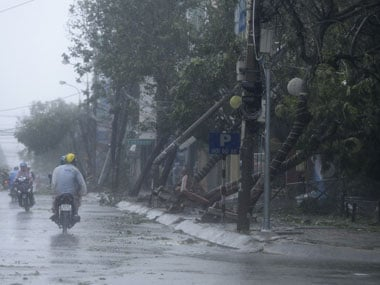 File images of Typhoon Hato aftermath in southern China. Reuters
