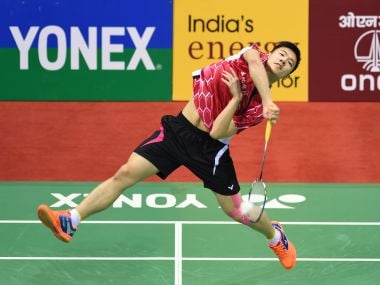 File photo of Tzu Wei Wang of Taiwan in action. AFP