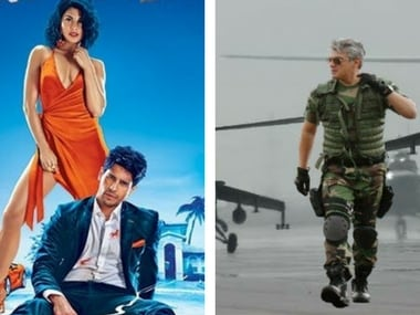 A Gentleman and Vivegam opened to theatres on 25 August and 24 August respectively. Images via Twitter.