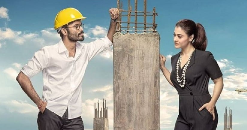 Dhanush and Kajol in VIP 2