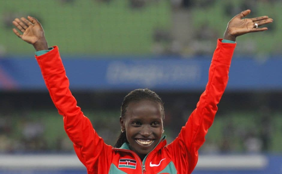 The Laureus Sportswoman of the Year Award went to Kenya's extraordinary distance runner Vivian Cheruiyot, who won both 5,000 and 10,000 metres gold medals at the World Championships in Daegu. Reuters