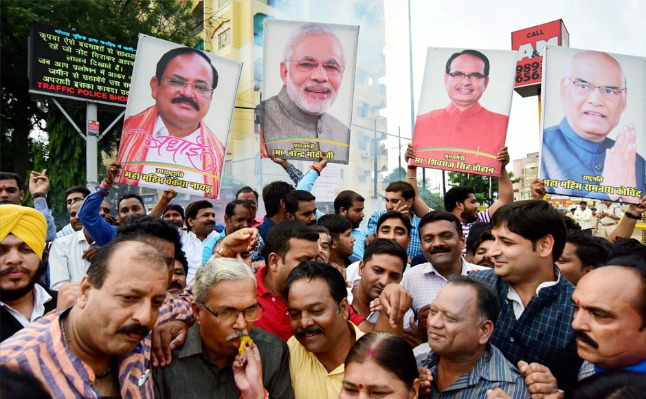 Born to a humble agricultural family in Andhra Pradesh's Nellore district, the 68-year-old Naidu has served as BJP president, a minister in various portfolios and a long-time Rajya Sabha member, a politicalcareer extending more than four decades. PTI