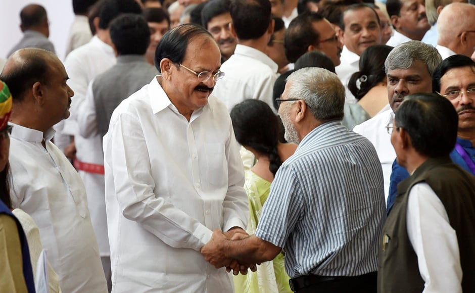 M Venkaiah Naidu has been elected as the Vice-President of India. Naidu got 516 votes against opposition candidate Gopalkrishna Gandhi's 244, said election officer Shemsher K Sharif. PTI