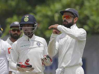 Virat Kohli seeks advice from his players before taking any call. AP