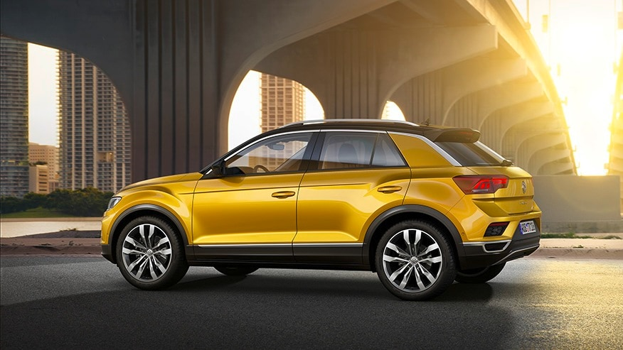 The pricing of the T-Roc will place it beneath the company's Tiguan and the Teramount.