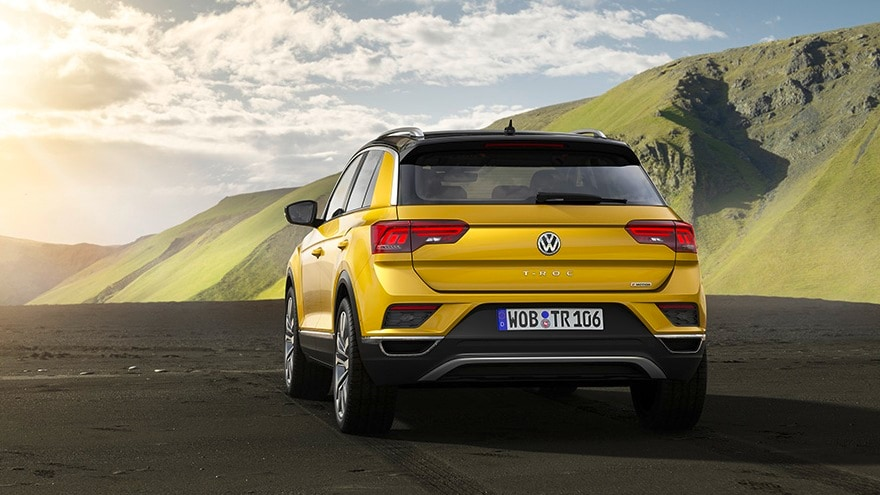 The Volkswagen T-Roc will be made available in three petrol and two diesel engine variants