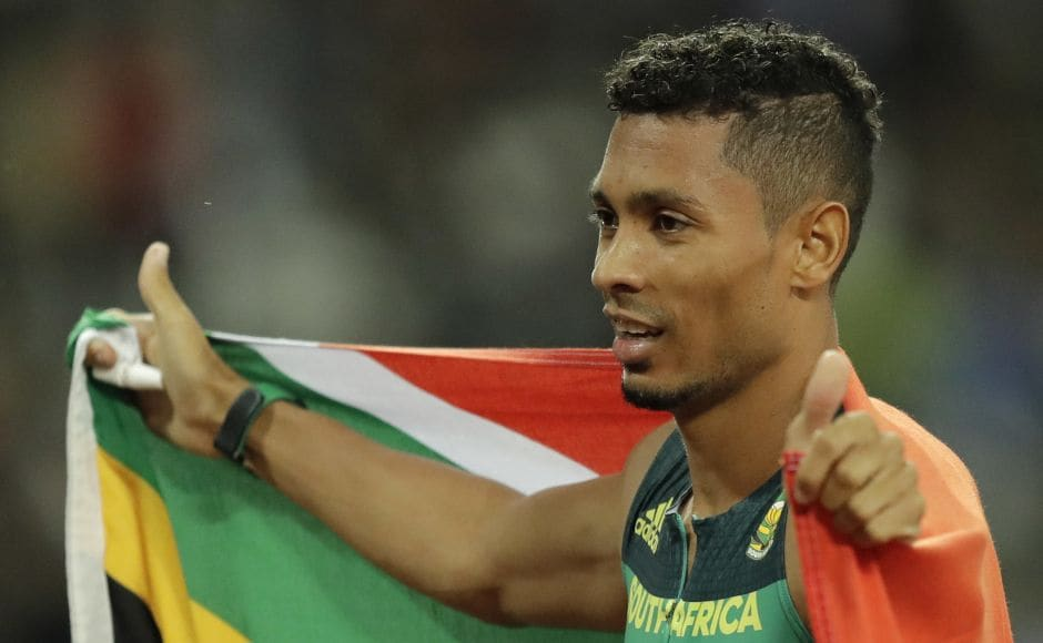 South Africa's Wayde van Niekerk successfully defended his world title in the 400 metres, adding to his Olympic gold and world record, at IAAF World Championships 2017 in London. AP