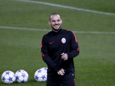 File image of Wesley Sneijder. Reuters