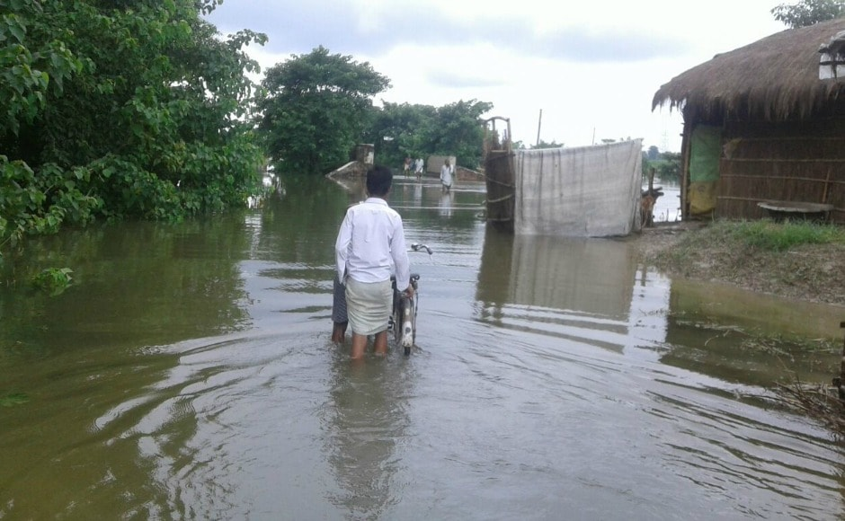 So far, at least 13 persons, including women and children, have been killed in the floods. ETV