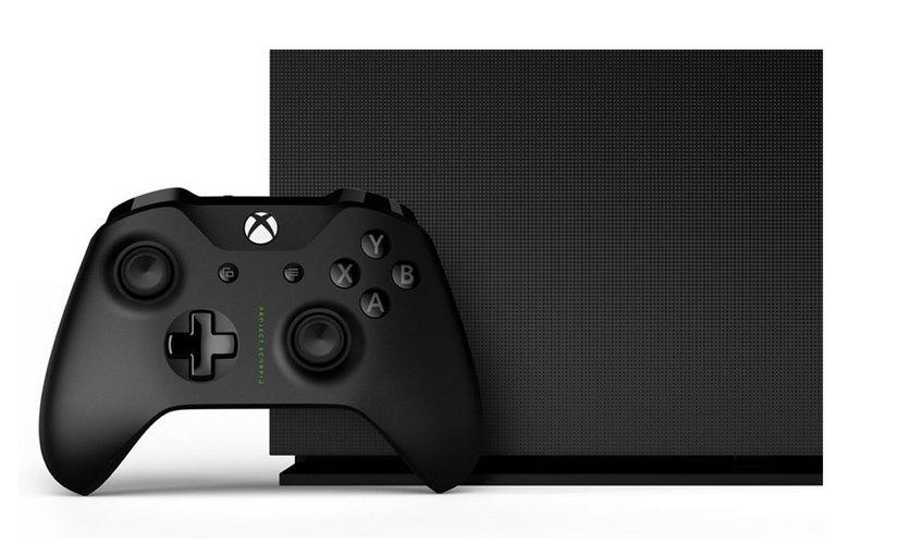 Xbox One X Project Scorpio edition. Image: Microsoft