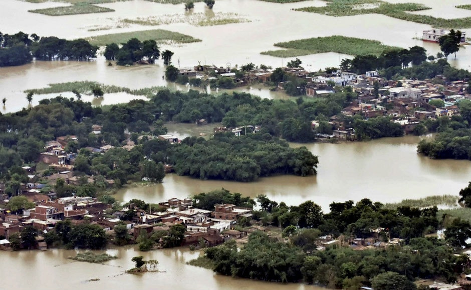 The state government has set up 1,238 relief camps in which 310,041 people were living in the flood-hit districts. More than 60 lakh people have been affected alone in Kishanganj, Araria, Purnea, Katihar, East and West Champaran districts in the last three days. PTI