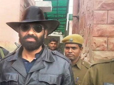 File image of Anandpal Singh. News18