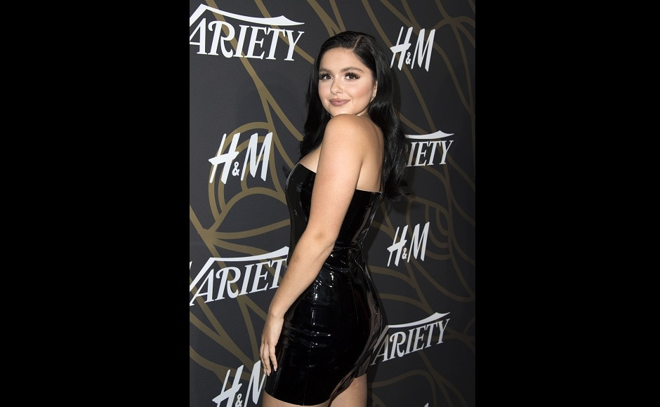 Ariel Winter was one of the young influencers who hit the red carpet at Variety's Power of Young Hollywood event. Image from AFP.