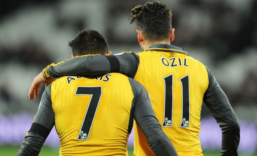 The contracts of Mesut Özil and Alexis Sanchez are going to be major headaches for Arsenal. Getty Images