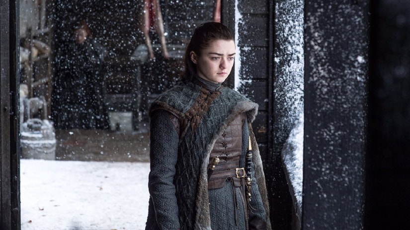 Arya Stark from Game of Thrones. Image from Twitter