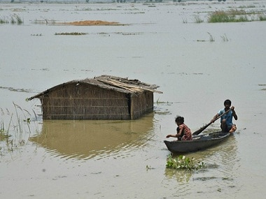 Floods are an annual cause of worry in Assam. Reuters