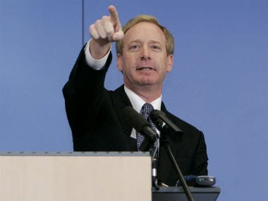 Microsoft's Brad Smith resigns from Trump's tech advisory board. Reuters.