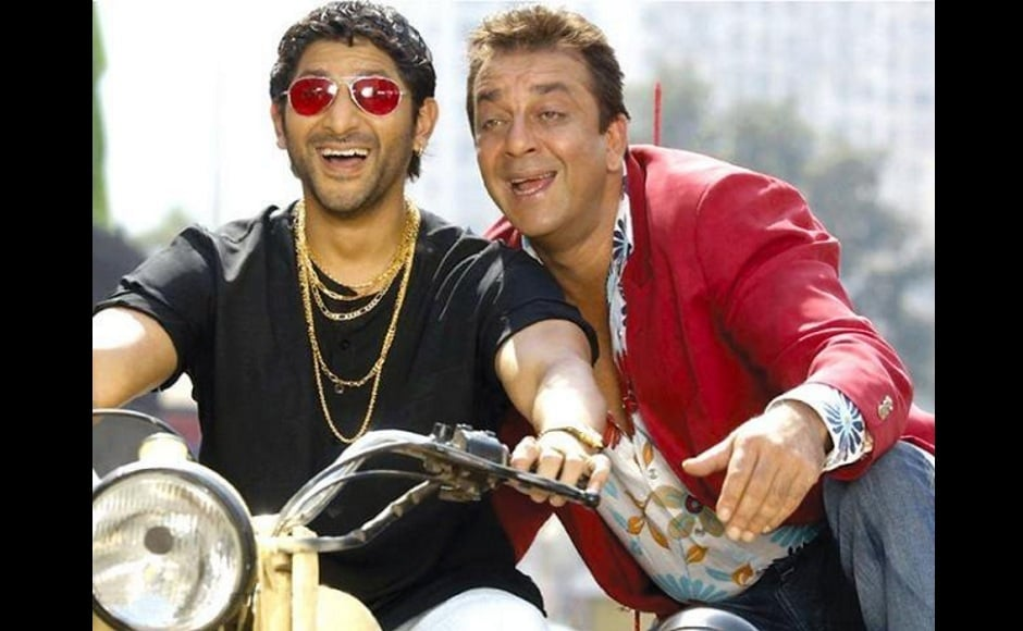 Munna and Circuit's relationship in the Munna Bhai series easily remains the second most popular friendships seen on screen. Whether it is getting Munna into medical school, beating up people who get in his way and helping him impress Chinki, Circuit is always readily available for Munna.