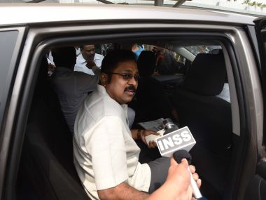 A file image of TTV Dhinakaran. Getty Image