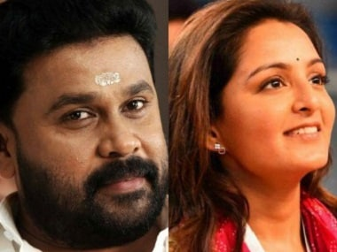 Dileep and Manju Warrier. Images from Facebook