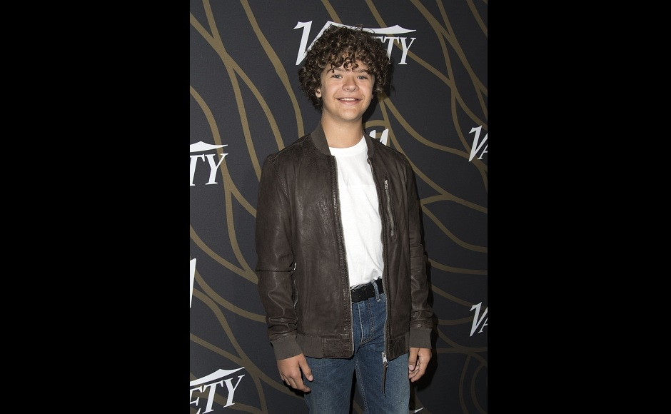 Gaten Matarazzo, star of Netflix original Stranger Things, attended the event, too. Image from AFP.