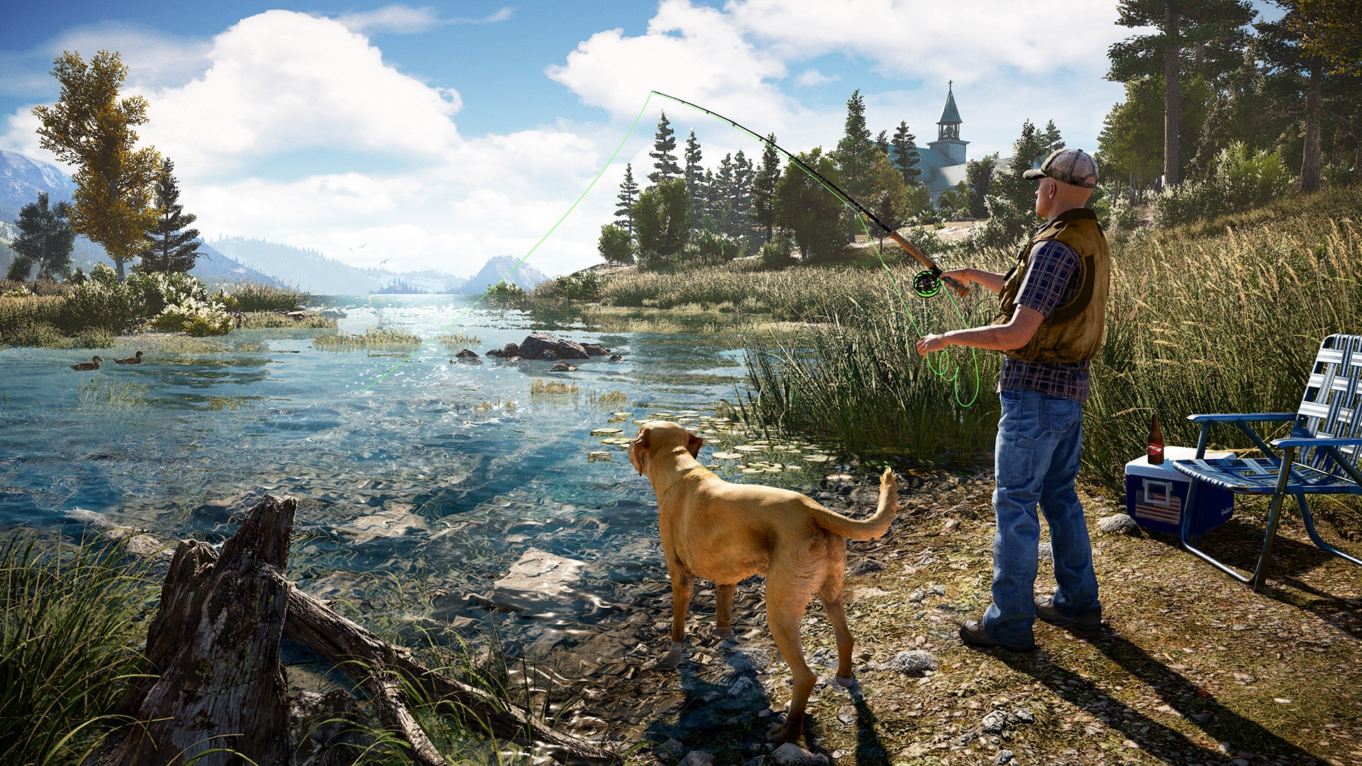 By far the most interesting aspect of Far Cry 5 appears to be its fishing mechanic