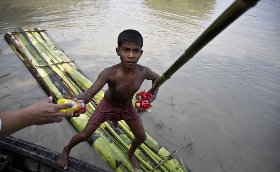 In Assam, around 31 lakh people across 24 districts are bearing the brunt of floods. The dead toll has jumped to 133. AP