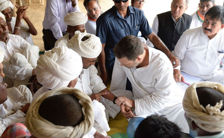 One person detained for attack on Rahul Gandhi, Congress protests across state