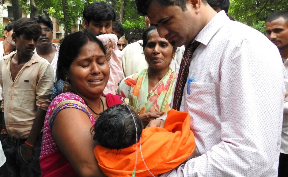 In a tragic incident, 63 children died in past five days at Baba Raghav Das Medical College in Gorakhpur district in Uttar Pradesh, after the supply of oxygen cylinders at the hospital was disrupted. AFP