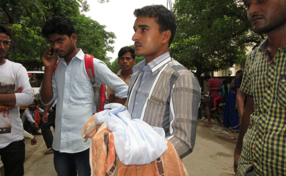 Reports state Pushpa Sales, the agency responsible for the supply of oxygen to the hospital, halted supplies due to non-payment of dues. This alone lead to the death of 33 children in the past 48 hours. AFP