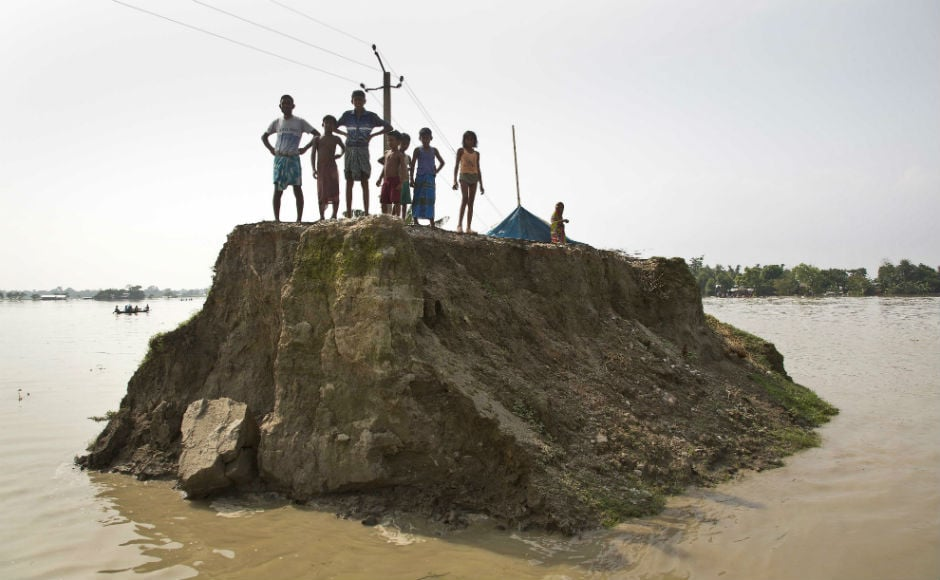 Around 1.38 crore people are still battling the deluge in 18 districts of the state. With water receding in some places, many people have returned home. AP