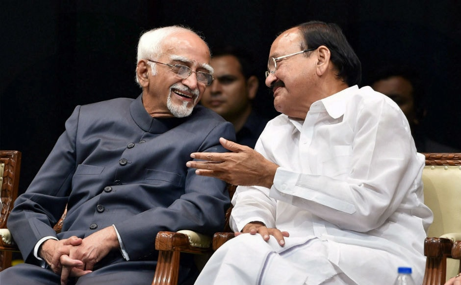 Ansari will be succeeded by M Venkaiah Naidu, who will take oath as Country's 13th vice-president on Friday at Rashtrapati Bhavan. Polling 516 votes, Naidu defeated Opposition candidate Gopalkrishna Gandhi who got 244 votes. PTI