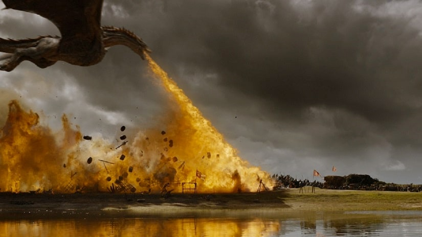 Still from Game of Thrones season 7 episode 4