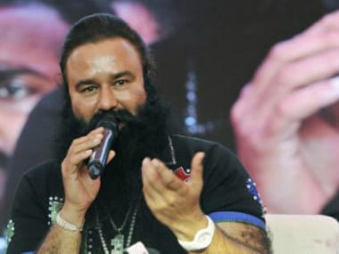 File image of Gurmeet Ram Rahim Singh. CNN-News18