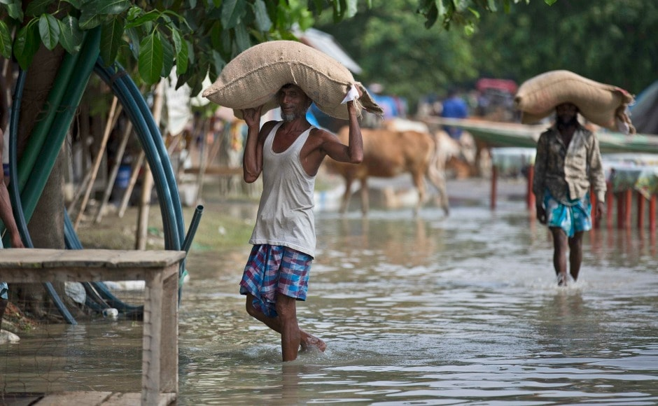 The flood situation in Assam continued to deteriorate, with 10 more people losing their lives on Thursday, taking the total death toll to 49. AP