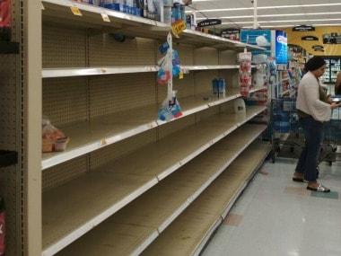 Six counties in Texas were declared mandatory evacuation zones while others were deemed voluntary evacuation zones. Firstpost/ Vedam Jaishankar