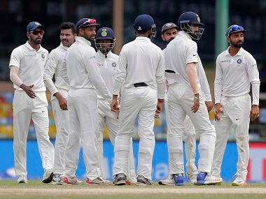 The Indian team has now won eight consecutive Test series. AP