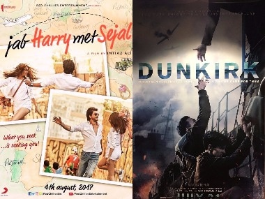 Jab Harry Met Sejal-Dunkirk posters. Images from Twitter.