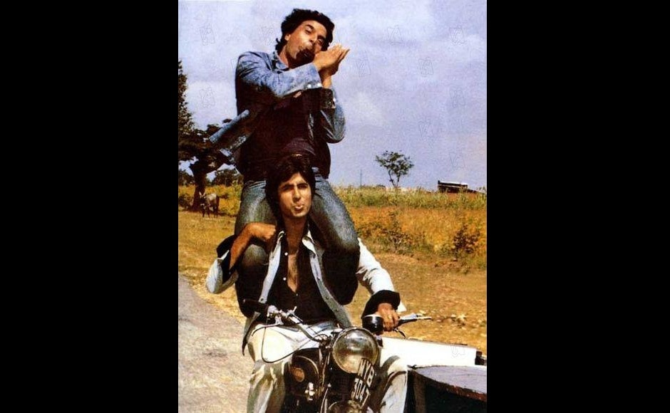 On the occasion of Friendship Day, we celebrate Bollywood's most incredible friendships. Sholay set the pace for Bollywood bromance with Jai (Amitabh Bachchan) and Veeru's (Dharmendra) unbreakable bond. The song<em> '</em>Ye Dosti Ham Nahi Todenge<em>'</em>, picturised on the actors went on to become the bromance anthem.