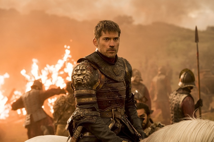 Nikolaj Coster-Waldau as Jaime Lannister in 'The Spoils of War'/Still from Game of Thrones season 7 episode 4. Image via HBO