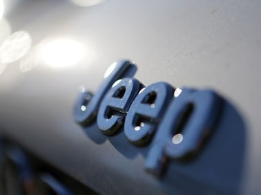 The Jeep logo. Reuters