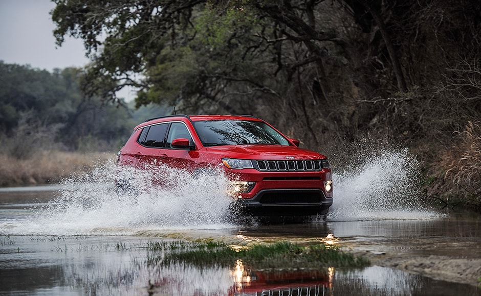 The Jeep Compass which was unveiled back in April