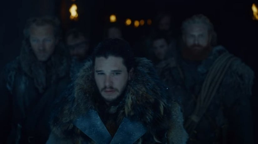 Still from Game of Thrones Season 7 Episode 5, 'Eastwatch'. YouTube screengrab