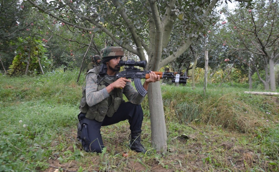 Militants entered Pulwama town's district police lines at around 3.40 am and attacked a guard-post with grenades and gunfire, the police said. Hilal Shah