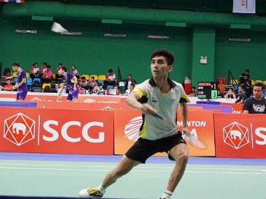 File photo of Lakshya Sen. Image courtesy: Twitter/@OGQ_India