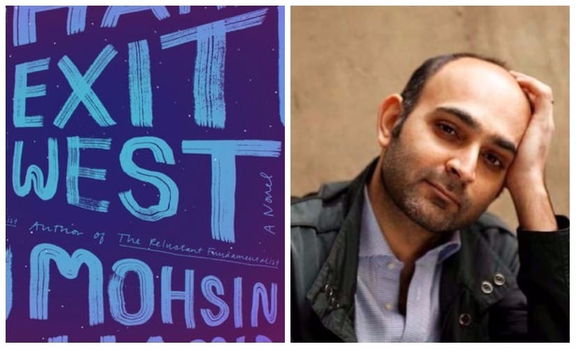 Exit West by Mohsin Hamid is on the Man Booker Prize 207 long-list. Image via Twitter