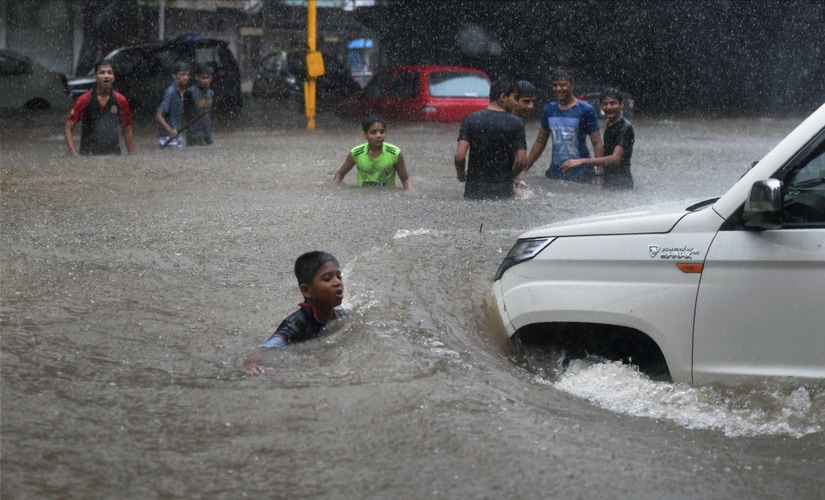 Meteorological department sources said Mumbai recorded copious rain of 65 mm in just three hours. PTI