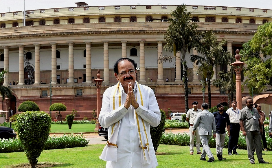 Venkaiah Naidu takes oath as 13th Vice President of India
