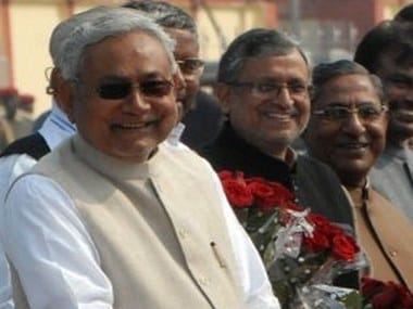 Nitish Kumar was sworn in as Chief Minister of Bihar for the sixth time on 27 July. AFP
